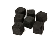 Cubes Of Coconut Coal For A Ho...