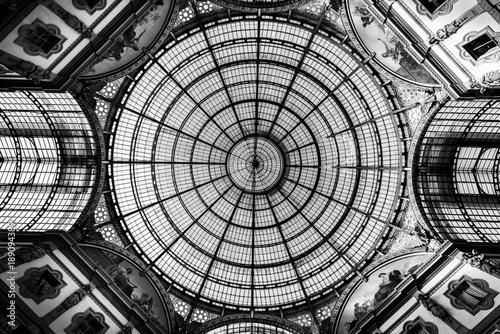 Foto Milan glass circular dome