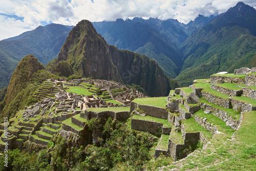 Fotobehang Zuid-Amerika land Famous unesco peruvian heritage