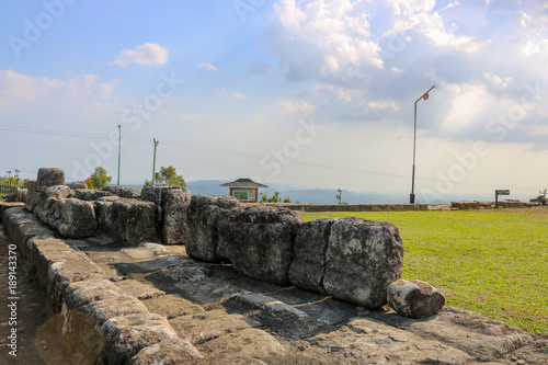 Foto op Plexiglas Indonesië Candi Ijo, Natural Tour, Green Temple Indonesia Travel