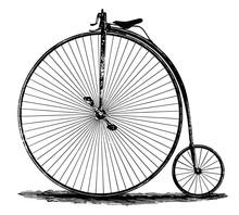 Hochrad - Fahrrad - High Wheel...