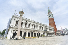 Campanile And Doge's Palace, Venice, Italy