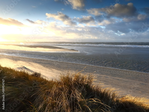 Tuinposter Noordzee Küstenlandschaft Nordsee, Nordfriesische Inseln