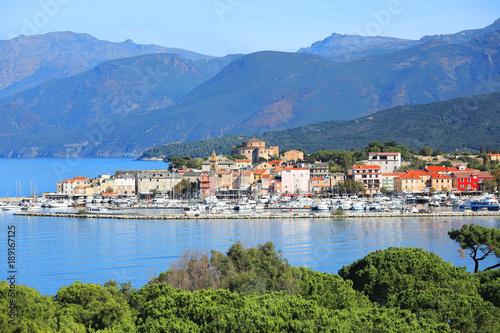 Fototapety, obrazy: Scenic Saint Florent on Corsica Island, France