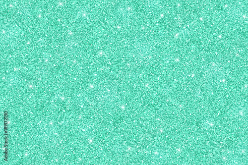 Turquoise shiny glitter texture