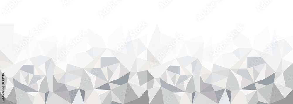 Fototapety, obrazy: Geometrisches Muster, Hintergrundgrafik, grau, Panorama