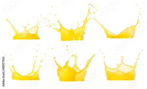juice splashes set