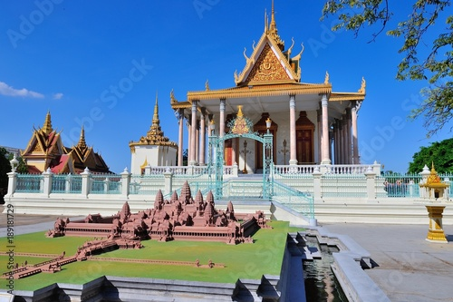 Photo  Cambodia, Royal Palace in Phnom Penh