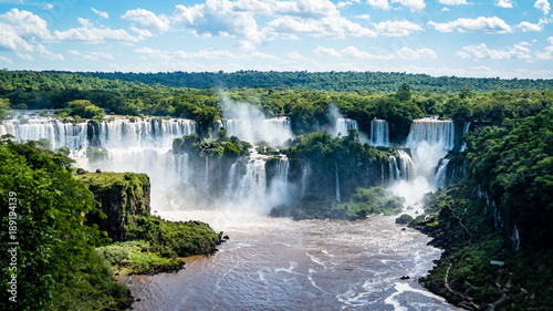 South American Waterfalls Poster Mural XXL