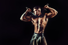 Portrait Of Handsome Muscular ...