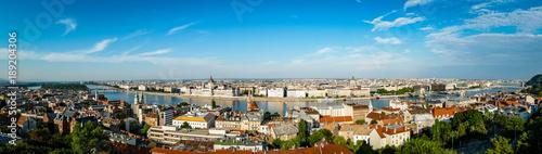 Poster Algerije Budapest Hungary Skyline
