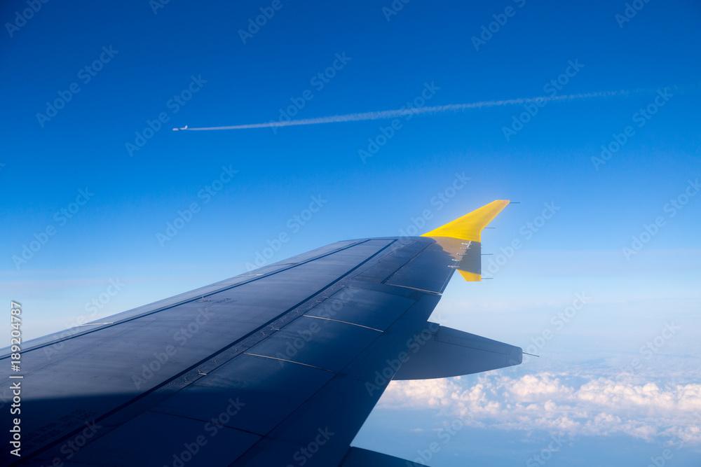 Aile d'avion de ligne