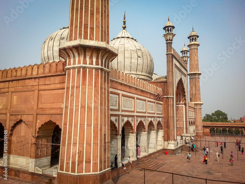 dome turret gate mahal india taj Wallpaper Mural