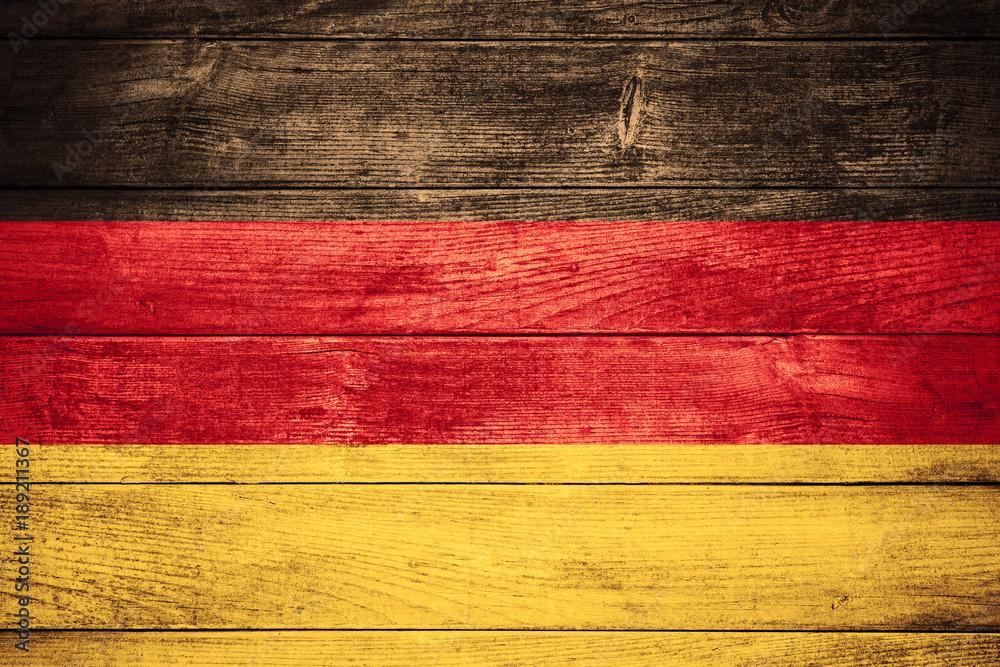 Fototapety, obrazy: flag of Germany