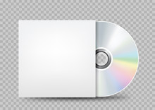 Compact Disc White Cover Trans...