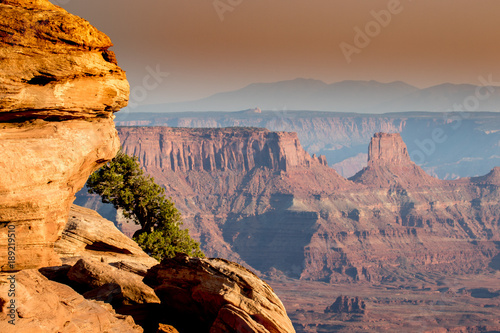 Fotografie, Obraz  View of canyons and rock formations in southwest Utah