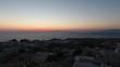 4K Drone Shot Of Santorini Island After Sunset