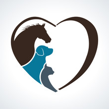 Veterinarian Heart Animal Love...