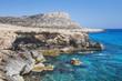 Mediterranean sea landscape. Cavo Greco, Cyprus.