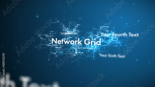 Space Network Grid Title. Kaufen Sie diese Vorlage und finden Sie ...