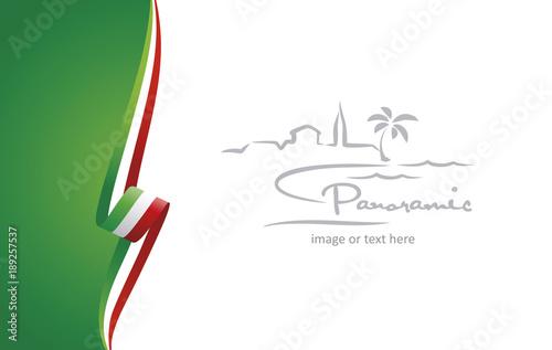 Fotografía  Italy abstract brochure cover poster background vector