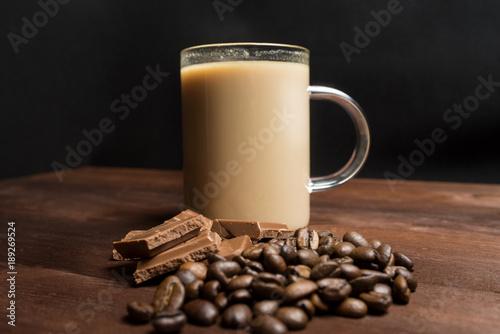 Spoed Foto op Canvas koffiebar coffee