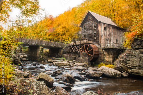 Grist Mill - Horizontal Tablou Canvas