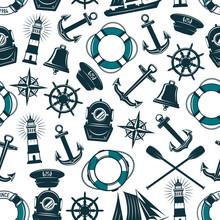 Vector Nautical Marine Heraldi...