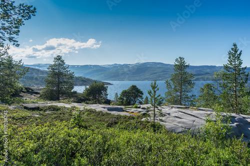 Norway, Alta landscapes Canvas Print