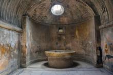 Italy Calabria Pompeii Ruins