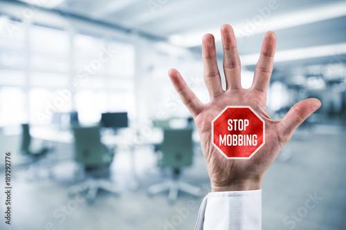 Fotografie, Tablou  Stop mobbing