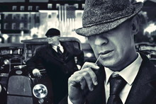 Vintage Bossy Italian Mafia Ga...