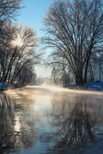 Winter Beautiful Landscape. St...