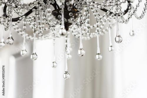 Fotomural Crystal chandelier close up background