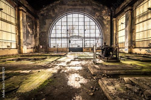 Aluminium Prints Old abandoned buildings Zeche - Lost Place
