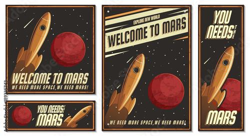 ilustracja-astronauta-plakat-retro