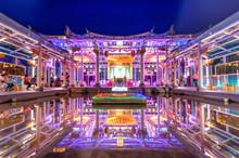 Glass Hu Sheng Temple In Changhua, Taiwan