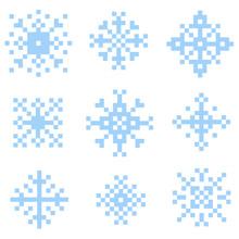 Pixel Snow Set