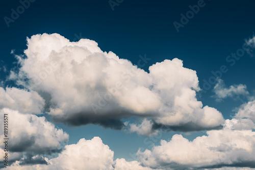 Obraz clouds before rain. Dramatic Storm Clouds Area Background - fototapety do salonu