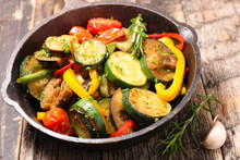 Grilled Vegetable And Herbs, R...