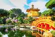 Leinwanddruck Bild - Nan Lian Garden. It is a Chinese Classical Garden in Diamond Hill, Kowloon, Hong Kong.