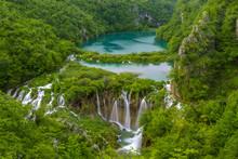Waterfalls In Plitvice Nationa...