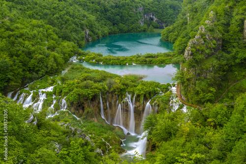 Fotografía  Waterfalls in Plitvice National Park, Croatia