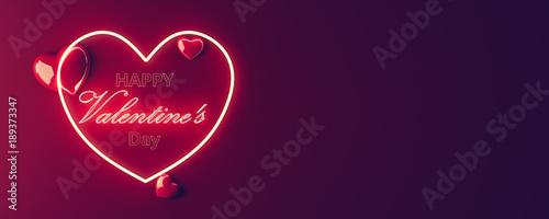 Obraz Valentines Card , Heart shape - fototapety do salonu