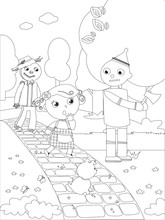Coloring Wizard Of Oz 03 The T...