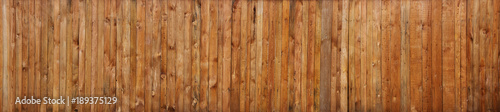 Fotografie, Obraz  Brown wood plank wall texture background