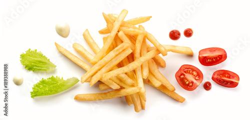 Fotografía heap of fried potatoes