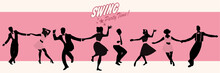 Swing Party Time: Silhouettes ...