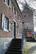 Pastoralbüro und Kirche St Aldegundis in Leverkusen Rheindorf