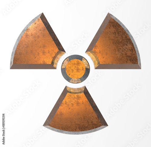 Sign - radioactive danger Canvas-taulu